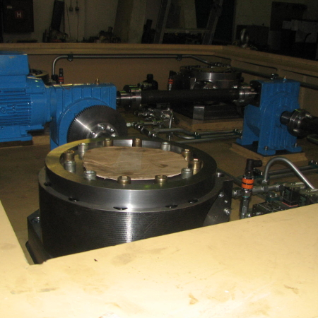 Part of the machine after the completed installation, ready for installation into the main assembly
